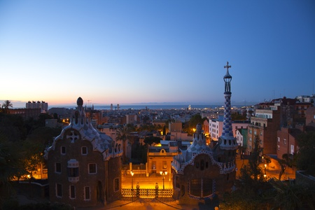 commissioned: Guell Park, or Parc Guell, was a project commissioned by the architect Antoni Gaudi