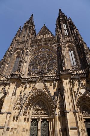 vitus: St  Vitus Cathedral in Prague