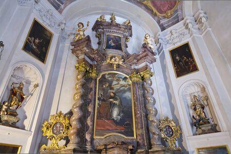 Prague. Church of St. Nicholas in Old Town Square Redakční