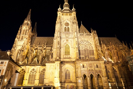 St  Vitus Cathedral in Prague photo