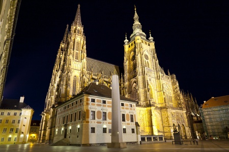 St. Vitus Cathedral in Prague photo