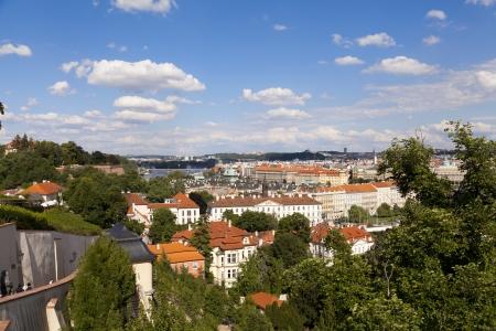 Overview of Prague, Czech Republic photo