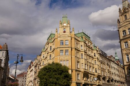 jewish quarter: Buildings Jewish Quarter Czech Republic, Prague