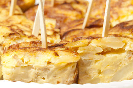 Delicious Spanish omelette skewers photo