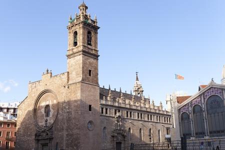 epoch: Il Santos Juanes � stato un chiaro esempio di parrocchiale gotica, con una struttura tipica dell'architettura valenciana dell'epoca Archivio Fotografico