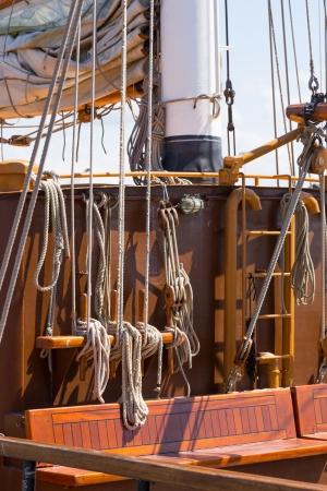 st malo: Old sail ship restored to navigation