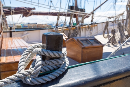 Old sail ship restored to navigation photo