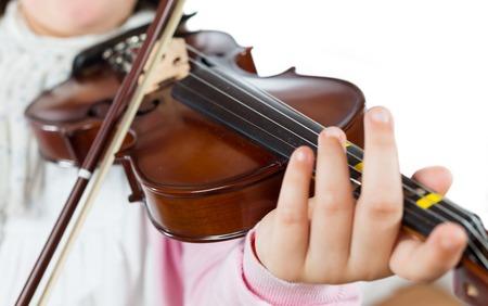 prodigio: Prodigy suonare il violino nella scuola di musica
