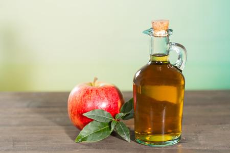diuretic: Apple cider vinegar with a fresh apple