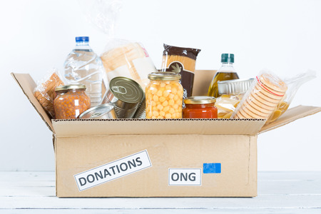 donation: Supportive housing or food donation for poor
