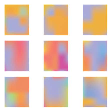 Stylish, fascinating psychedelic design. Vector illustration flat. Strange splash and spreading spot. Orange unique vector texture of gradient colors.