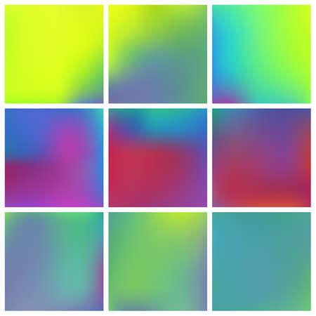 Stylish, fascinating psychedelic design. Vector illustration flyer. Creative splash and spreading spot. Yellow unique vector texture of gradient colors. Ilustração