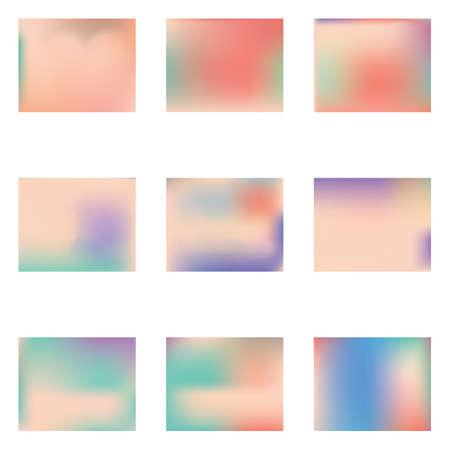 Stylish, fascinating psychedelic design. Pretty splash and spreading spot. Vector illustration shape. Pink unique vector texture of gradient colors. Ilustração