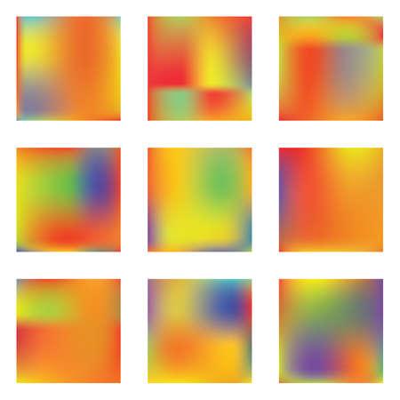 Stylish, fascinating psychedelic design. Vector illustration shape. Magic splash and spreading spot. Yellow unique vector texture of gradient colors. Ilustração