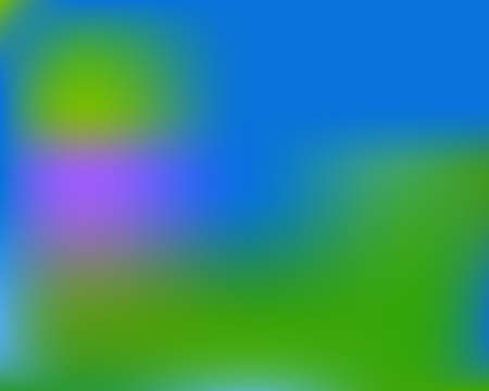 Bright blurred graphics from various combinations of colors and shades. Vector illustration flat. Random splash and spreading spot. Blue color spots that form a bright blurred graphics.