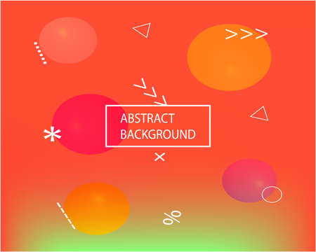 Vibrant dynamic texture template. Startling splash and spreading spot. EPS. Vector illustration artbook. Red original dynamic texture as a psychedelic work of art. Иллюстрация
