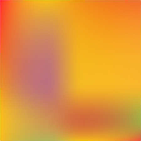 Bright interesting vector texture. Vector illustration flat. Amazing splash and spreading spot. Orange psychedelic design, made with random color spots.