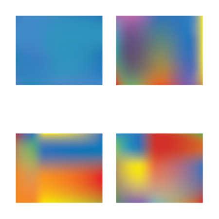 Modern concept in color pattern. Random splash and spreading spot.