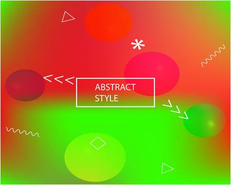 Inspiring colorful modern background. Flat backdrop with bright rainbow colors. Vector illustration texture. Red colored, natural screen design for user interface or mobile app.