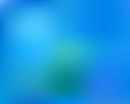 Soft color gradient background. Vector illustration layout. Flat backdrop with bright rainbow colors. Blue colored, natural screen design for user interface or mobile app.
