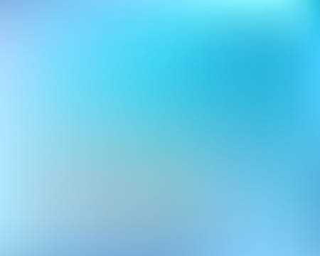 Gradient smooth mesh background. Fresh backdrop with bright rainbow colors. Vector illustration concept. Blue eco template for your poster, banner or graphic design. Ilustracja