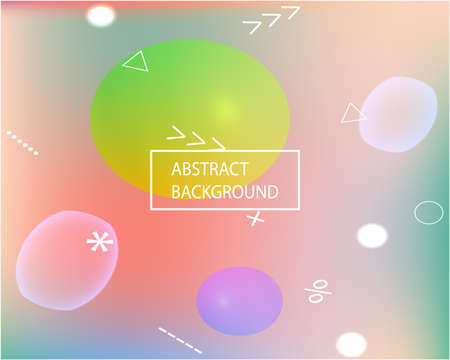 Smooth gradient mesh background. Vibrant backdrop with simple muffled colors. Vector illustration flyer. Pink modern abstract backdrop for mobile app and user interface.
