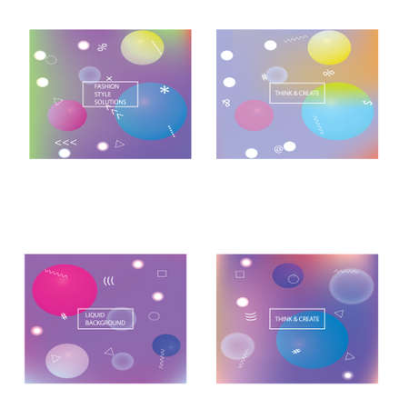 Abstract blurred background for your projects. Futuristic backdrop with simple muffled colors. Vector illustration vintage. Violet celebration template for your graphic design, user interface or app.