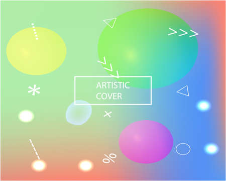 Trendy modern abstract background. Creative backdrop with simple muffled colors. Vector illustration space. Pink elegant and easy editable smooth banner template.  イラスト・ベクター素材