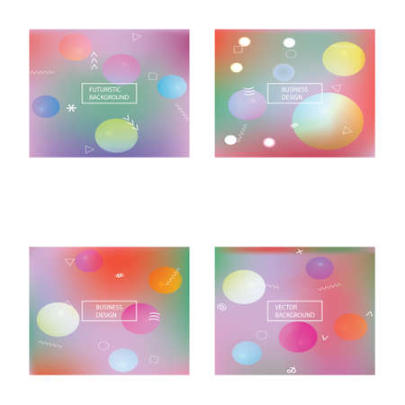 Trendy modern abstract background. Vector illustration art. Commercial backdrop with simple muffled colors. Violet elegant and easy editable smooth banner template.