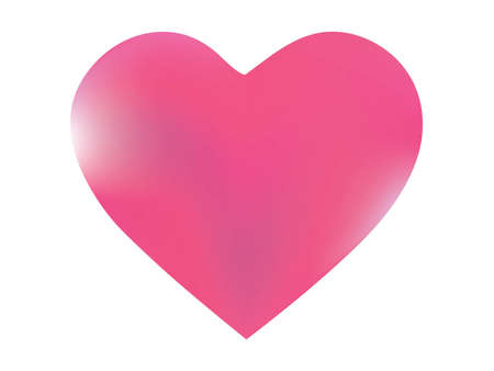 Blurred background in the form of a heart. Futuristic style of 90th, 80th. Soft color pastel. Pink modern abstract cover for your graphic design or creative projects. Ilustração