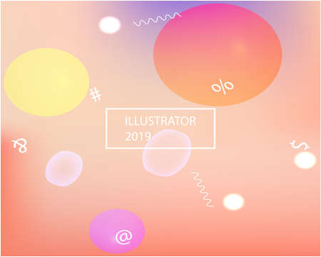 Abstract soft color background. Dynamic backdrop with simple muffled colors. Vector illustration flyer. Blue modern screen effective design for user interface.