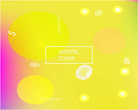 Trendy modern abstract background. Dynamic backdrop with simple muffled colors. Vector illustration concept. Blue elegant and easy editable smooth banner template.