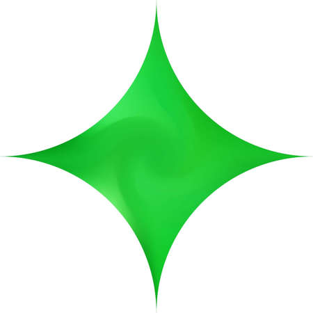 Diamond-shaped smooth background. Creative backdrop in style of 90th, 80th. Trendy soft color illustration. Green elegant and easy editable colorful fluid cover for your creative projects.  イラスト・ベクター素材