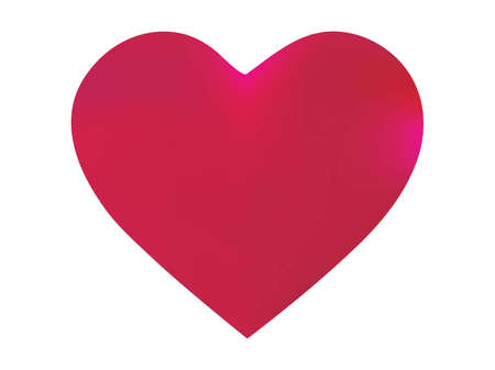 Smooth background in the form of a heart. Romantic style of 90th, 80th. Soft color concept. Pink elegant and easy editable colorful fluid cover for your creative projects. Imagens - 132166018