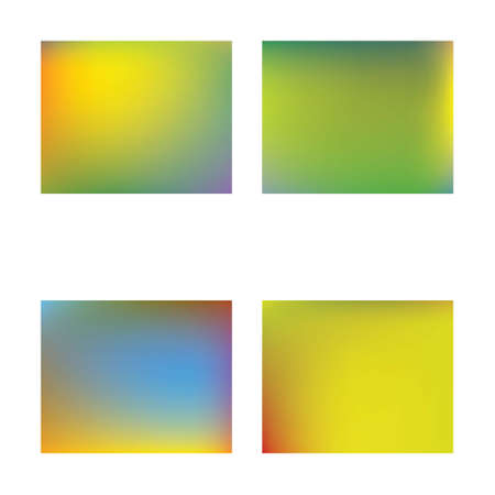 Modern blurry smooth background. Original backdrop with simple muffled colors. Vector illustration theme. Yellow fluid colorful shapes for poster, presentation and banner. Ilustração