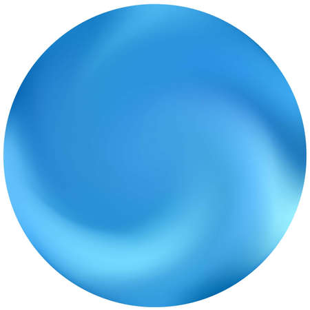 Abstract colorful round background. Flat backdrop in style of 90th, 80th. Trendy soft color concept. Blue effective modern screen design for brochure, calendar, cards or invitation. Vectores