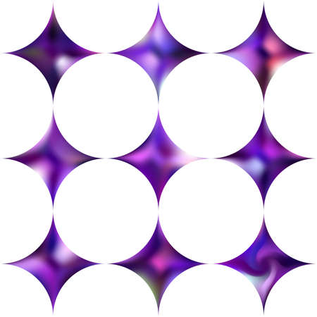 Kit of diamond-shaped gradient backgrounds. Trendy soft color effect. Geometric style of 80th. Violet modern, natural cover for your creative projects and graphic design. Ilustração