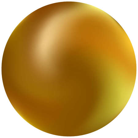 Abstract colorful round background. Popular backdrop in style of 90th, 80th. Trendy soft color sphere. Yellow effective modern screen design for brochure, calendar, cards or invitation.