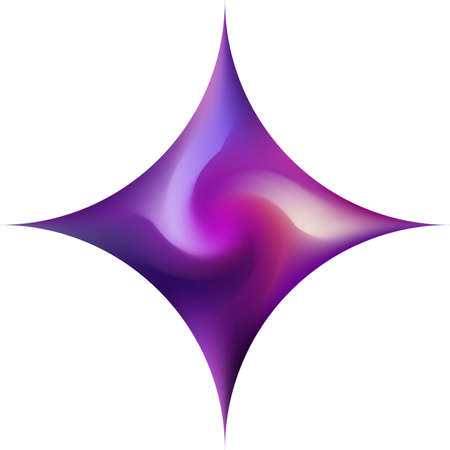 Diamond-shaped smooth background. Trendy soft color rhombus. Minimal backdrop in style of 90th, 80th. Violet elegant and easy editable colorful fluid cover for your creative projects. Çizim