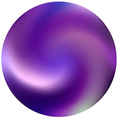 Round colored gradient background. Trendy soft color illustration. Flat backdrop in style of 90th, 80th. Violet modern, natural cover for your creative projects and graphic design.