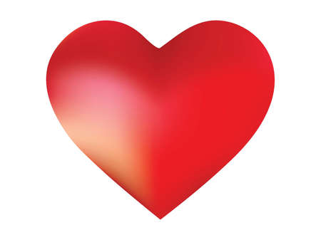 Chromatic background in the form of a heart. Simple style of 90th, 80th. Soft color pastel. Red effective modern screen design for brochure, calendar, cards or invitation.