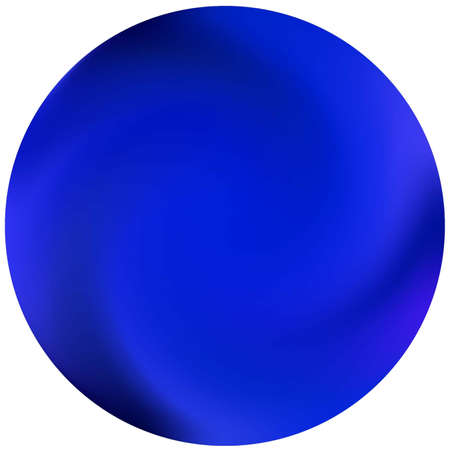 Abstract colorful round background. Trendy soft color concept. Flat backdrop in style of 90th, 80th. Blue effective modern screen design for brochure, calendar, cards or invitation.