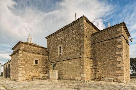 arroyo: Ancient Christian shrine. Our Lady of Light. Patron of town of Arroyo de la Luz. Caceres. Extremadura. Spain.