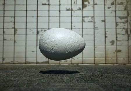 levitating: levitating egg