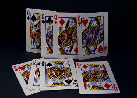 playing cards, kings and queens Stock Photo - 3823370