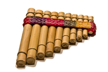 flute of cane, latin-american, musical instrument Stock Photo - 3842981