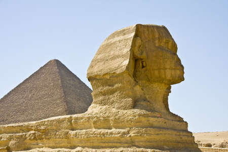 Dettagli di arte egizia, faraoni, i templi, dipinti, statue. Archivio Fotografico - 5500456