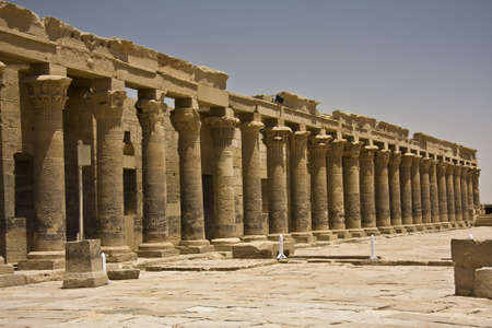 Details of Egyptian art, pharaohs, temples, paintings, statues. photo