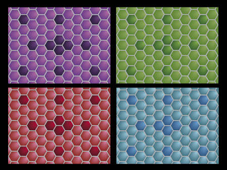 piedra laja: ilustraci�n que representa cuatro piso de cer�mica.