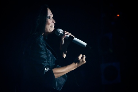 Aula Magna, Lisbon, Portugal - February 15, 2012 - Tarja Turunen Performing Live as part of the